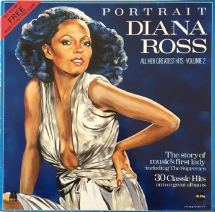 Diana Ross - Portrait: Volumes 1 & 2 (LP) (VG/G)